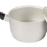 18CM片手兼用鍋(蒸し目皿付き)